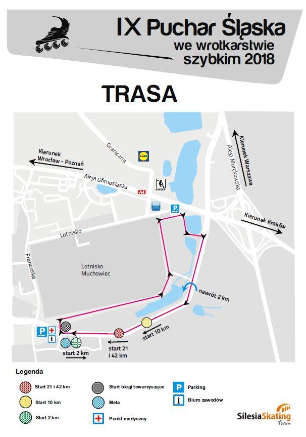 Mapka zawodów 2018